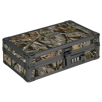 Vaultz® Locking Utility Box, 5.5 x 8.25 x 2.5, Next Camo (VZ00860)