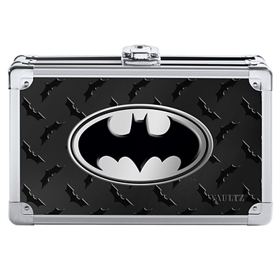 Vaultz® Batman Pencil Box, 5.5 x 8.25 x 2.5, Black (VZ00877)