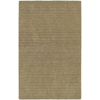StyleHaven Transitional Solid Shag 100% Wool 5 X 8 Gold Area Rug (WANO271105X8L)