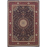StyleHaven Traditional Polypropylene 67 X 96 Blue/Red Area Rug (WARI095B36X9L)
