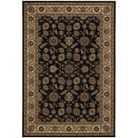 StyleHaven Traditional Polypropylene 4X 59 Brown/Ivory Area Rug (WARI271D34X6L)