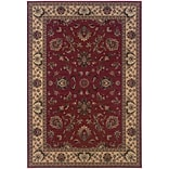 StyleHaven Traditional Polypropylene 710 X 11 Red/Ivory Area Rug (WARI311C38X11L)