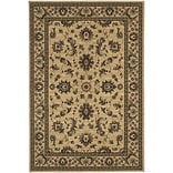 StyleHaven Traditional Polypropylene 4X 59 Ivory/Green Area Rug (WARI311I34X6L)