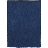 StyleHaven Shag Heathered Polyester 8 X 11 Blue Area Rug
