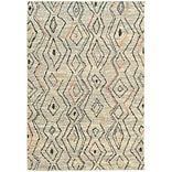 StyleHaven Contemporary Abstract Polypropylene 53 X 76 Ivory/Multi Area Rug