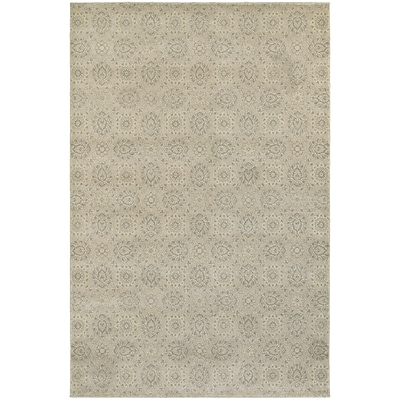 StyleHaven Traditional Floral Polypropylene 53 X 76 Beige/Ivory Area Rug (WRIC214Z35X8L)