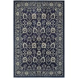 StyleHaven Persian All-Over Persian Polypropylene 67X96 Navy/Grey Area Rug
