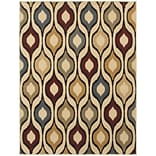 StyleHaven Odgee Design Polypropylene 53 X 73 Ivory/Multi Area Rug