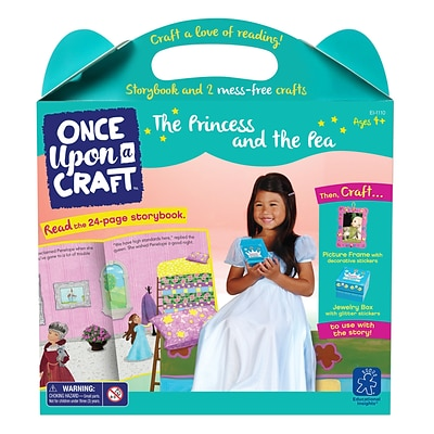 Educational Insights Once Upon a Craft™ The Princess and the Pea,  Ages 4-6 (1110)