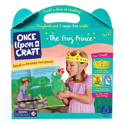 Educational Insights Once Upon a Craft™ The Frog Prince, Ages 4-6 (1113)
