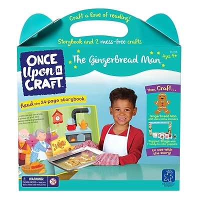 Educational Insights Once Upon a Craft™ The Gingerbread Man,  Ages 4-6 (1115)