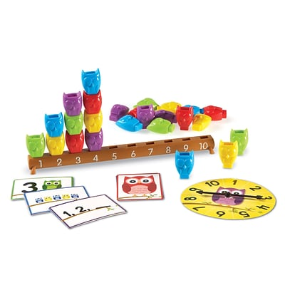 Learning Resources Learning Essentials 1-10 Counting Owls Activity Set (LER7732)
