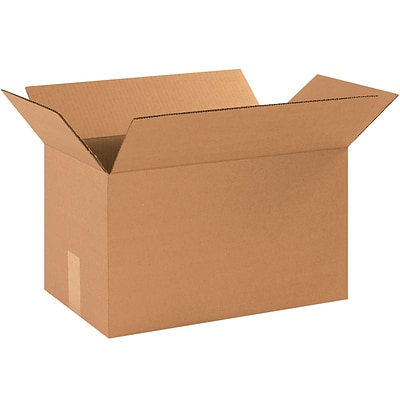 16x9x9 Standard Corrugated Shipping Box, 200#/ECT, 25/Bundle (1699)