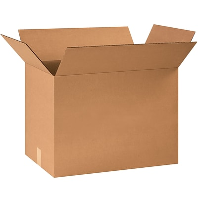24x16x18 Standard Corrugated Shipping Box, 200#/ECT, 15/Bundle (241618)