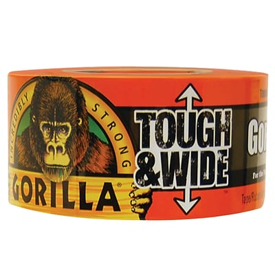 Gorilla Duct Tape, 3 x 30 yds., Black, 1/Case (6003001)