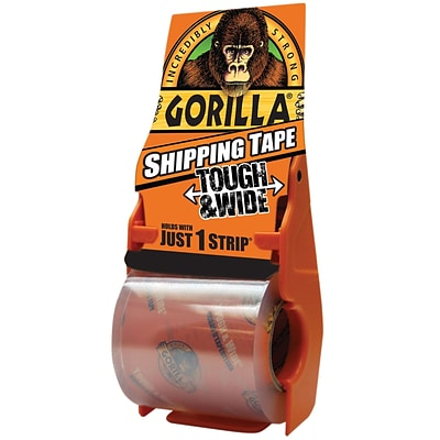 Gorilla Shipping Tape, 3 x 36 yds., Clear, 1/Case (6045002)