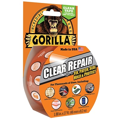 Gorilla Repair, 2 x 27, Clear, 1/Case (6027003)