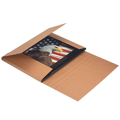 Jumbo Easy-Fold Mailers, 30 x 30 x 6, Kraft, 20/Bundle (M30306)