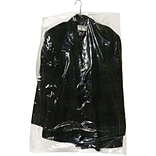 Partners Brand Garment Bags, 0.6 Mil ,21 x 7 x 30, Clear, 630/Roll (GB21730)