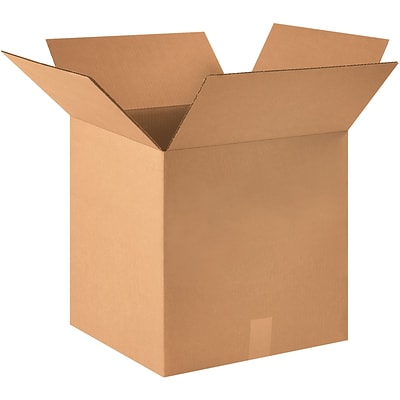15x15x15 Standard Shipping Box 275#/ECT, 25/Bundle (HD151515)