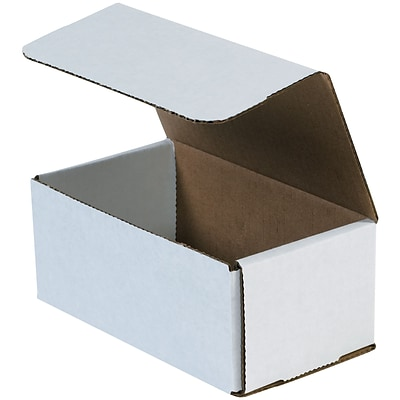 Corrugated Mailers, 11 x 8 x 4, White, 50/Bundle (MLR1184)