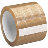 Tape Logic Natural Rubber Tape;  2.3 Mil, 3 x 110 yds., Clear, 6/Case (T9055106PK)