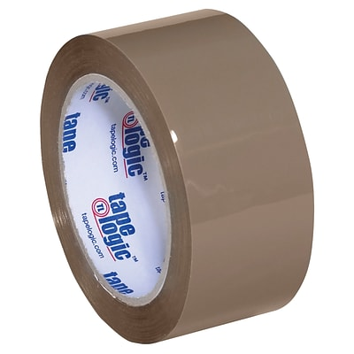 Tape Logic Acrylic Tape, 3.5 Mil, 2 x 55 yds., Tan, 6/Case (T901350T6PK)
