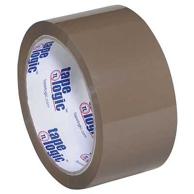 Tape Logic #700 Hot Melt Tape, 2 x 55 yds., Tan, 6/Case (T901700T6PK)