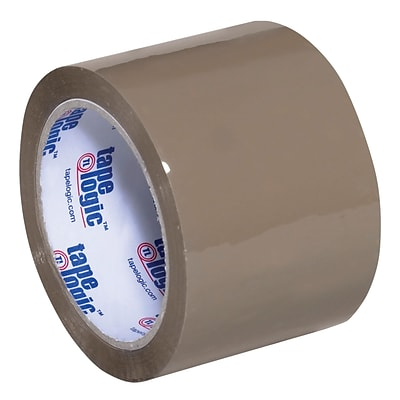 Tape Logic Acrylic Tape, 2.6 Mil, 3 x 55 yds., Tan, 6/Case (T905291T6PK)
