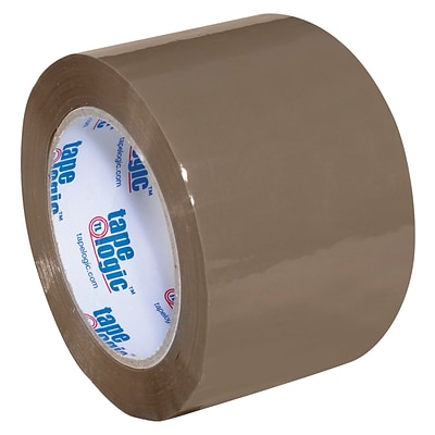 Tape Logic Acrylic Tape, 1.8 Mil, 3 x 110 yds., Tan, 24/Case (T905170T)