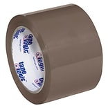 Tape Logic #600 Hot Melt Tape, 3 x 110 yds., Tan, 6/Case (T905600T6PK)