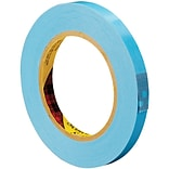 3M™ Scotch 8896 Strapping Tape, 1/2 x 60 yds., Blue, 12/Case (T913889612PK)