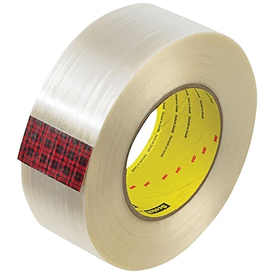 3M™ Scotch  890MSR Strapping Tape, 2 x 60 yds., Clear, 24/Case (74061-6)