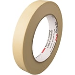 3M™ 203 Masking Tape; 3/4 x 60 yds., Natural, 48/Case (58035-7)
