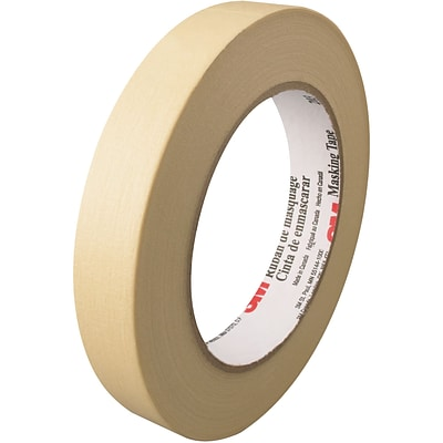 3M™ 203 Masking Tape, 3/4 x 60 yds., Natural, 48/Case (58035-7)