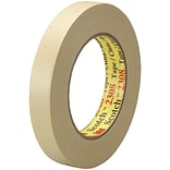 3M™ Scotch  2308 Masking Tape, 3/4 x 60 yds., Natural, 12/Case (T934230812PK)