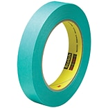 3M™ Scotch  2480S Masking Tape; 3/4 x 60 yds., Green, 48/Case (07546-3)