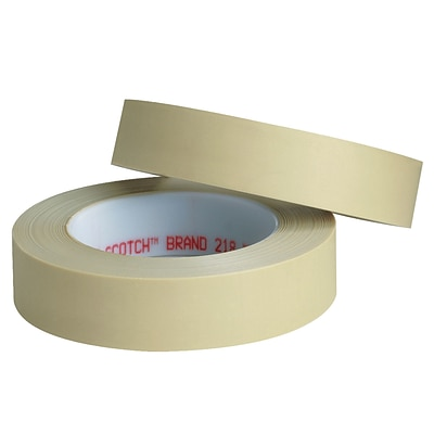 3M™ Scotch  218 Masking Tape, 1/4 x 60 yds., Green, 144/Case (16028-8)