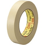 3M™ Scotch  2308 Masking Tape; 1 x 60 yds., Natural, 36/Case (06546-8)