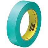 3M™ Scotch  2480S Masking Tape; 1 x 60 yds., Green, 36/Case (07547-0)