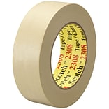 3M™ Scotch  2308 Masking Tape; 1 1/2 x 60 yds., Natural, 24/Case (06547-5)