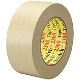 3M™ Scotch  2308 Masking Tape; 2 x 60 yds., Natural, 24/Case (06548-2)