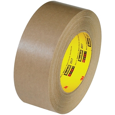 3M™ Scotch  2517 Flatback Tape, 1 1/2 x 60 yds., Kraft, 24/Case (48568-8)