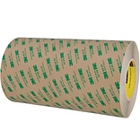 3M™ 468MP Adhesive Transfer Tape; Hand Rolls, 12 x 60 yds., Clear, 4/Case (18880-0)