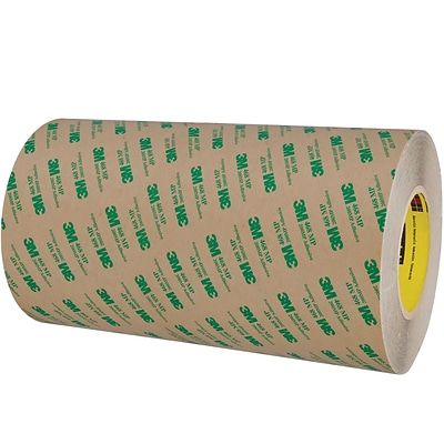 3M™ 468MP Adhesive Transfer Tape, Hand Rolls, 12 x 60 yds., Clear, 4/Case (18880-0)