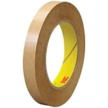3M™ 463 Adhesive Transfer Tape, Hand Rolls, 1/2 x 60 yds., Clear, 72/Case (03227-1)