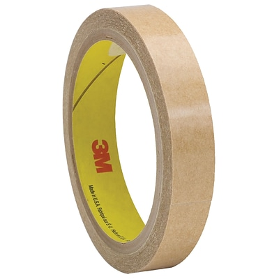 3M™ 927 Adhesive Transfer Tape, Hand Rolls, 1/2 x 60 yds., Clear, 72/Case (05276-7)