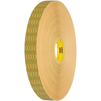 3M™ 465XL Adhesive Transfer Tape, Hand Rolls, 3/4 x 60 yds., Clear, 6/Case (T964465XL6PK)