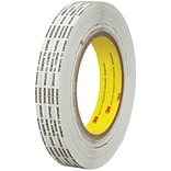 3M™ 466XL Adhesive Transfer Tape; Hand Rolls, 3/4 x 1000 yds., Clear, 1/Case (T9644661PK)