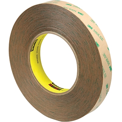 3M™ Scotch  9472LE Adhesive Transfer Tape, Hand Rolls, 3/4 x 60 yds., Clear, 3/Case (T96494723PK)